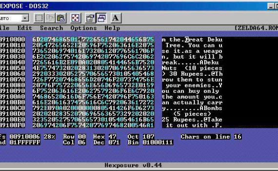 Hexpose rom hacking