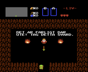 Zelda swedish fan translation
